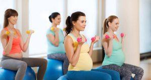 Беременность не время отказываться от занятий фитнесом