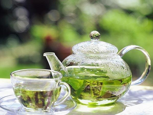 Диета с зеленым чаем для похудения