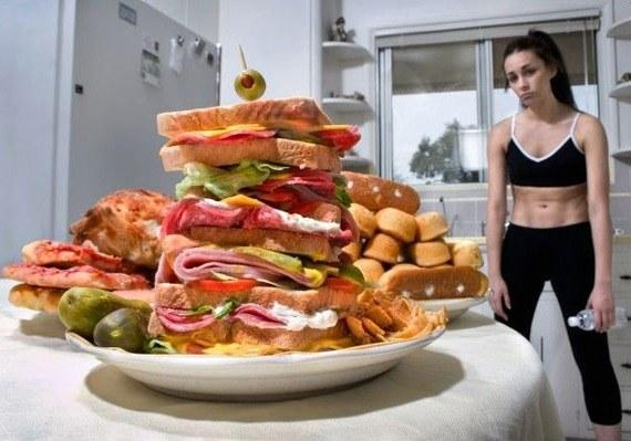 Вред переедания