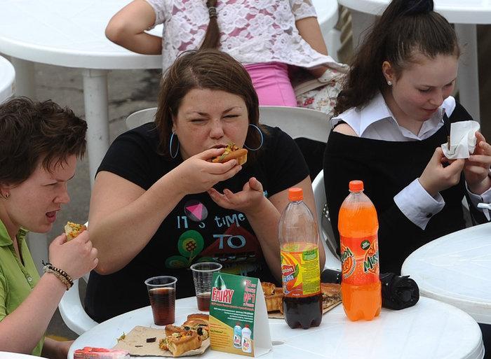 Объедание