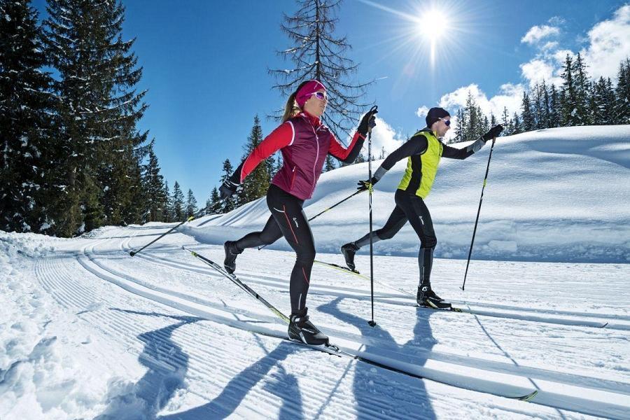 Горные лыжи для похудения