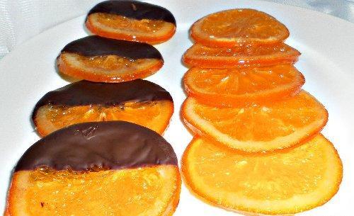 Апельсиновые сладости польза