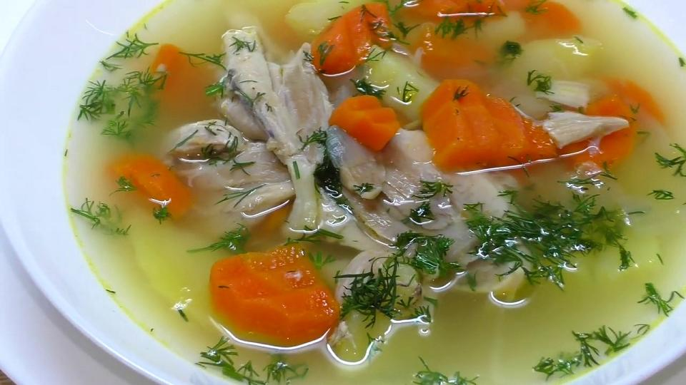 Диетический суп для похудения рецепт с курицей