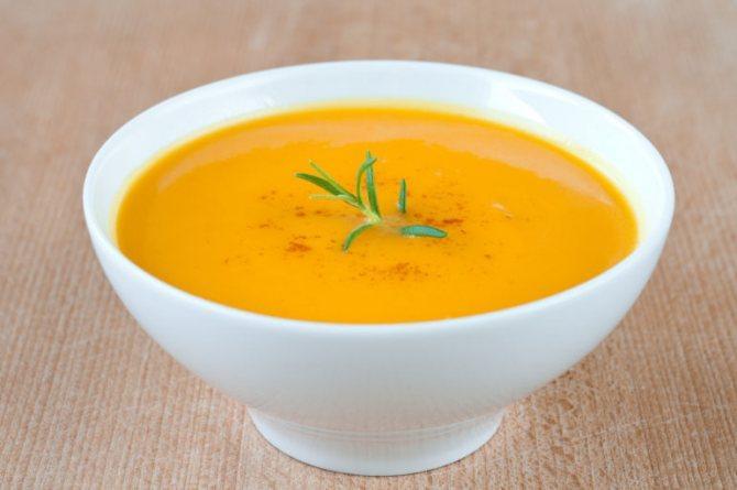 Диетический суп пюре для похудения