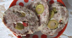 Домашняя диетическая колбаса