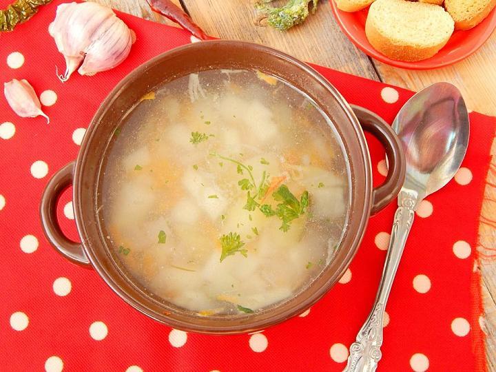 Как готовить диетический суп