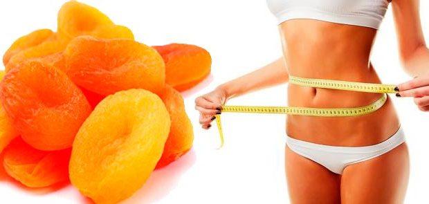 Курага способствует похудению