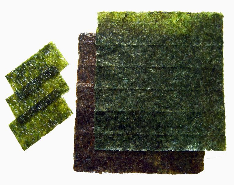 Морские водоросли нори