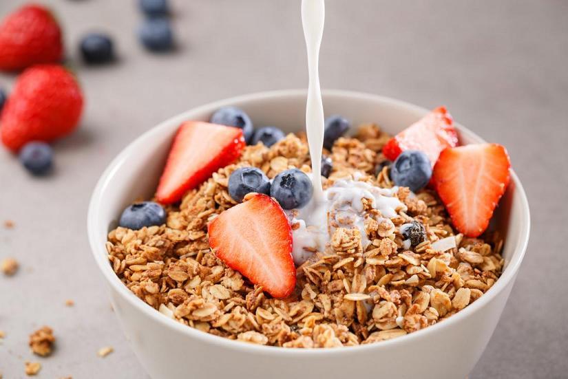 Мюсли – удобный вариант завтрака