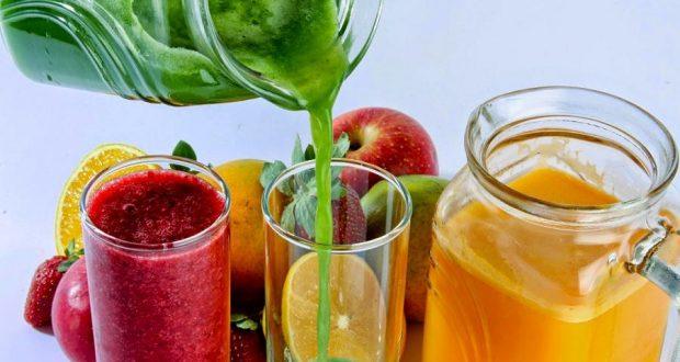 Прохладительные напитки детокс