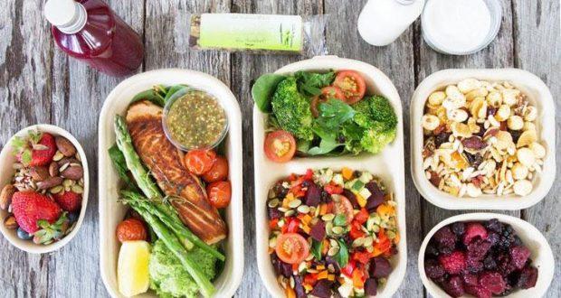 Правильное питание, меню на день